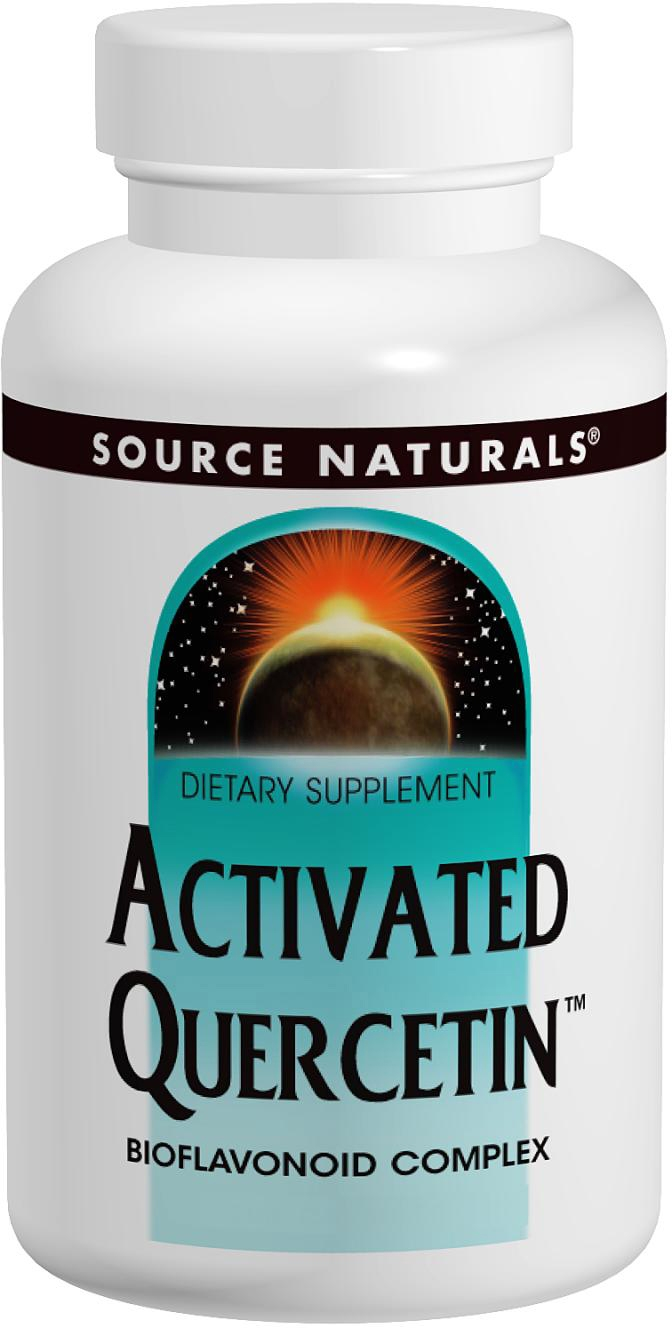 Activated Quercetin 100 caps by Source Naturals