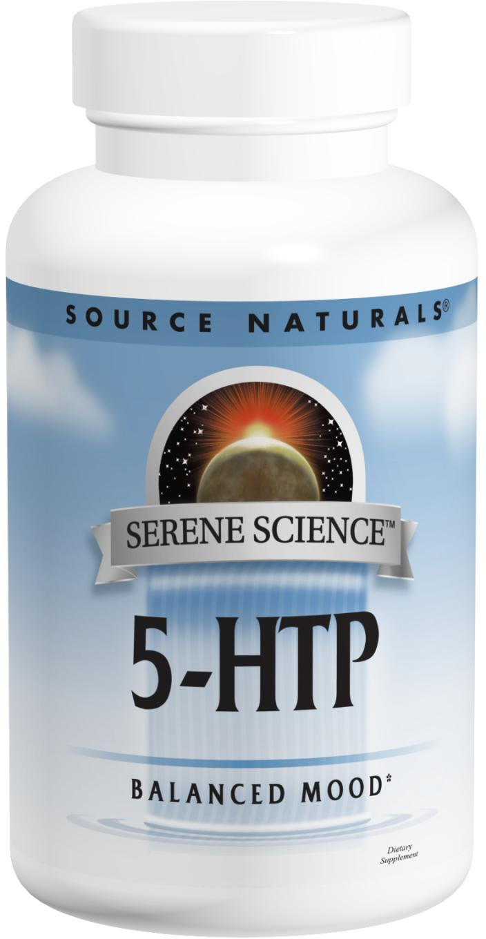 5-HTP 100 mg 120 caps by Source Naturals