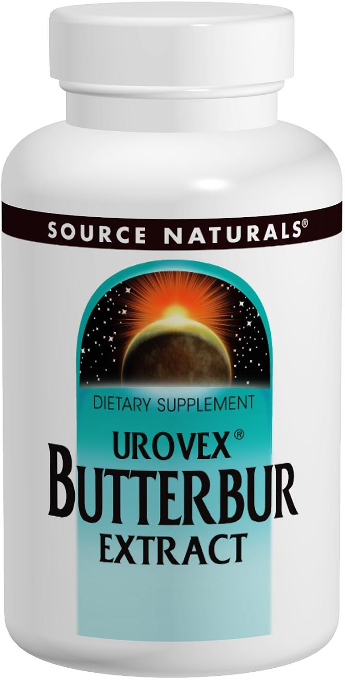 Butterbur Extract Urovex 60 sgels by Source Naturals
