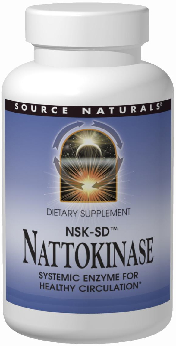Nattokinase 36 mg 90 sgels by Source Naturals