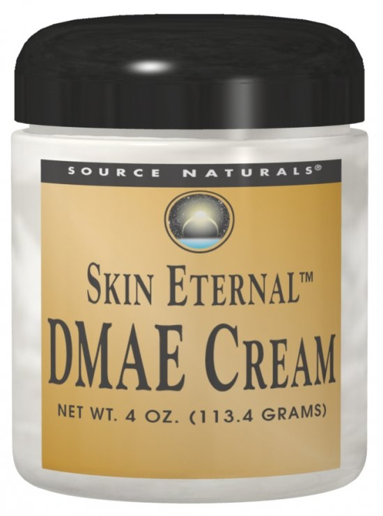Skin Eternal DMAE Cream 4 oz by Source Naturals