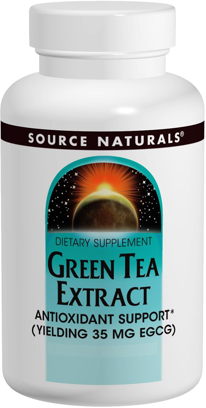 Green Tea Extract 500 mg 120 tabs by Source Naturals
