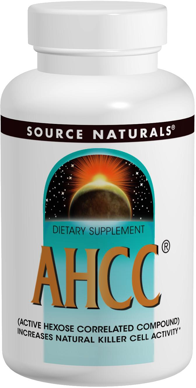 AHCC 750 mg 60 caps by Source Naturals