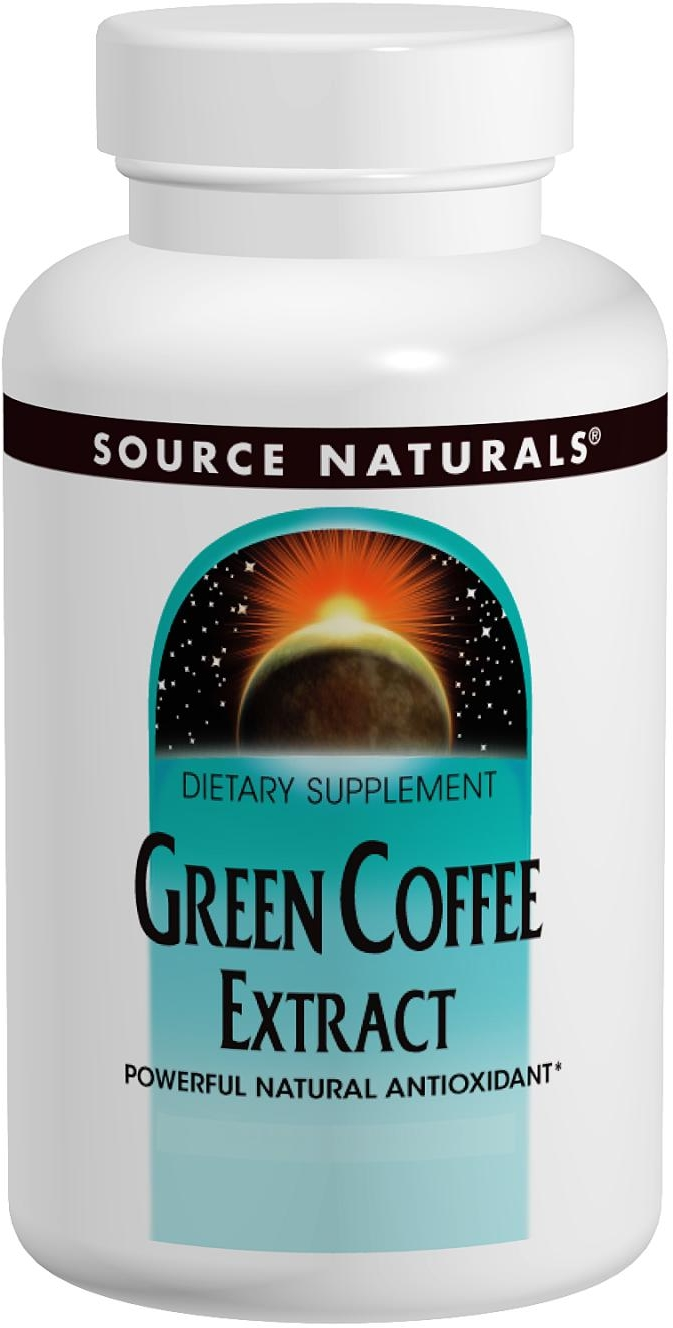 Green Coffee Extract 500 mg 60 tabs by Source Naturals