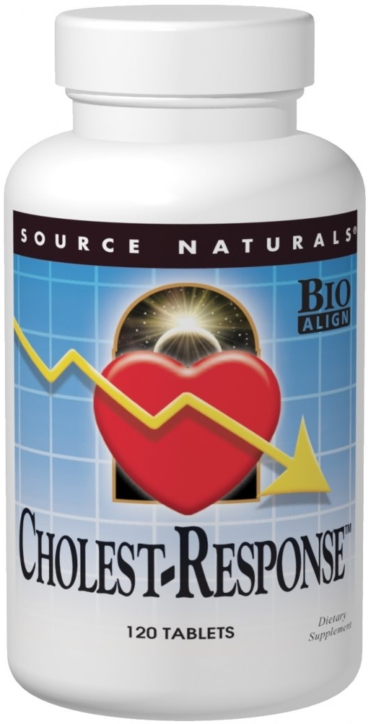 Cholest-Response 120 tabs by Source Naturals
