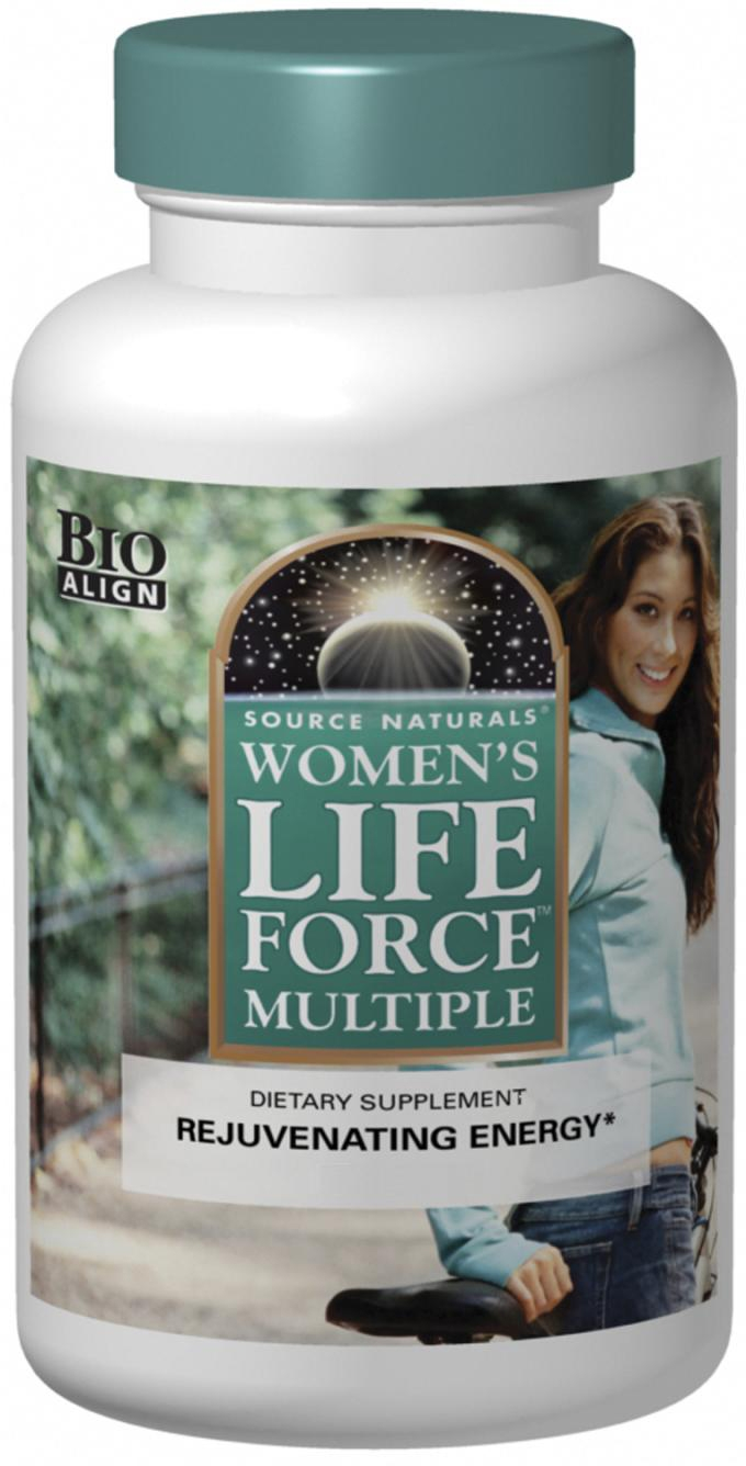 Women's Life Force Multiple 90 tabs by Source Naturals