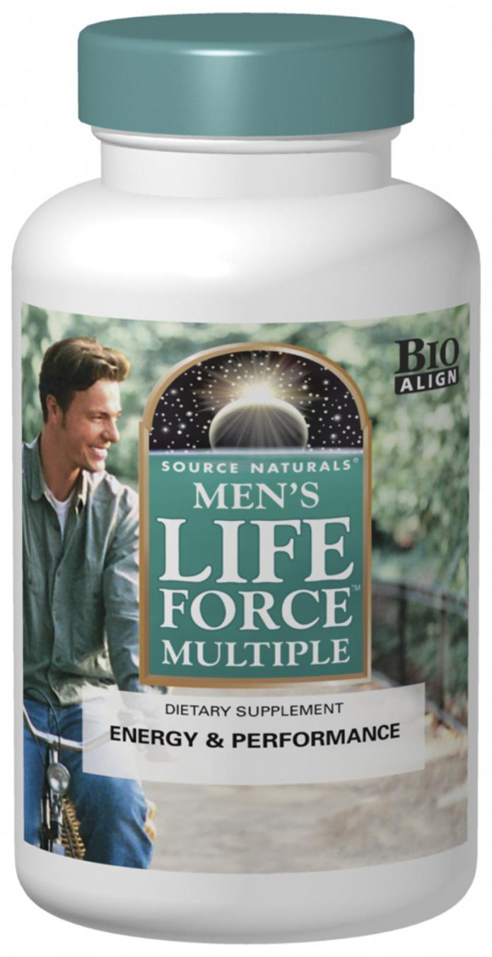 Men's Life Force Multiple 90 tabs by Source Naturals