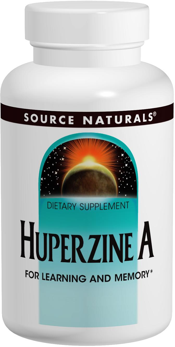Huperzine A 200 mcg 120 tabs by Source Naturals