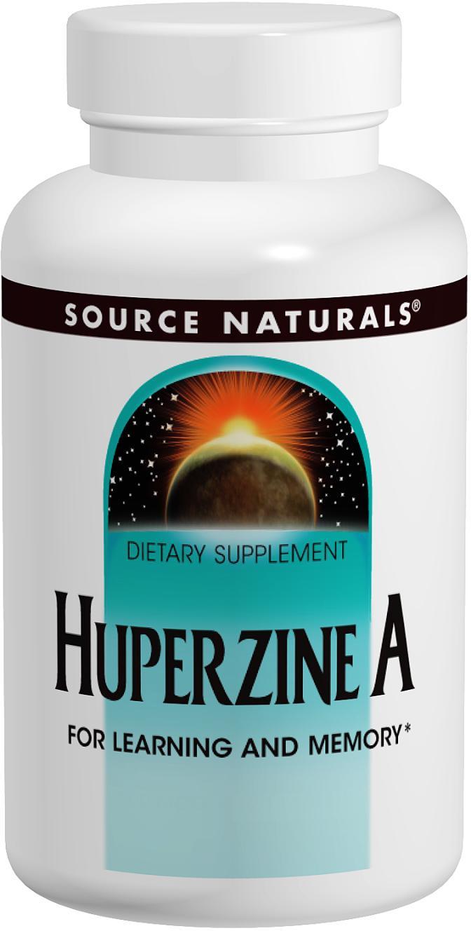 Source Naturals Huperzine A -- 200 mcg - 120 Tablets