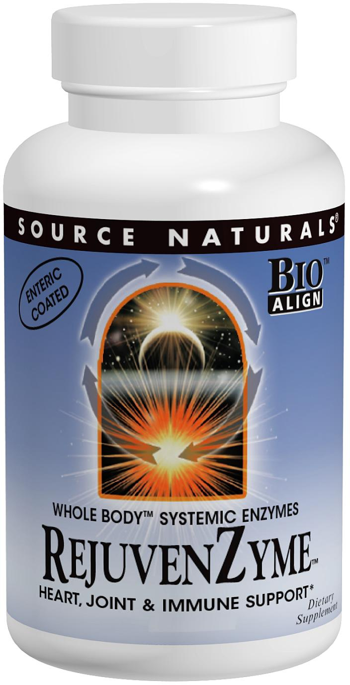 RejuvenZyme 120 caps by Source Naturals