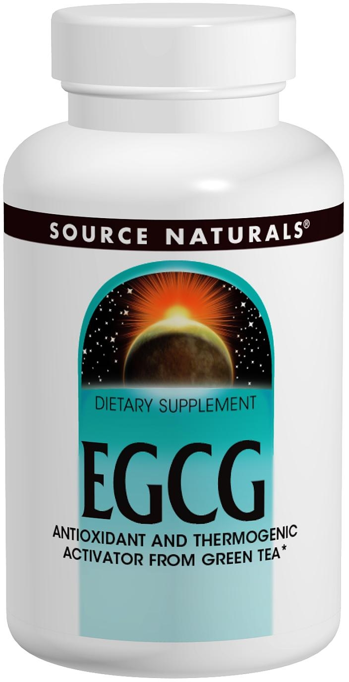 EGCG 350 mg 60 tabs by Source Naturals
