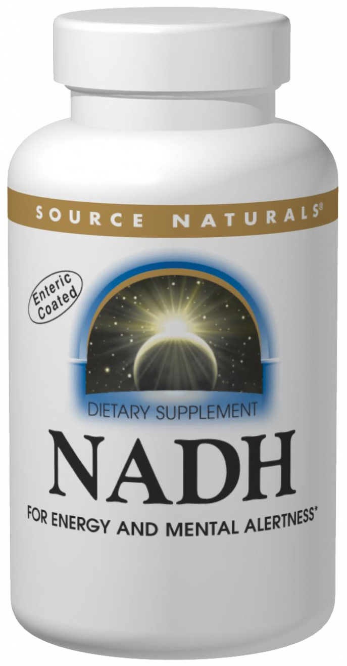 NADH 10 mg Sublingual 30 tabs by Source Naturals