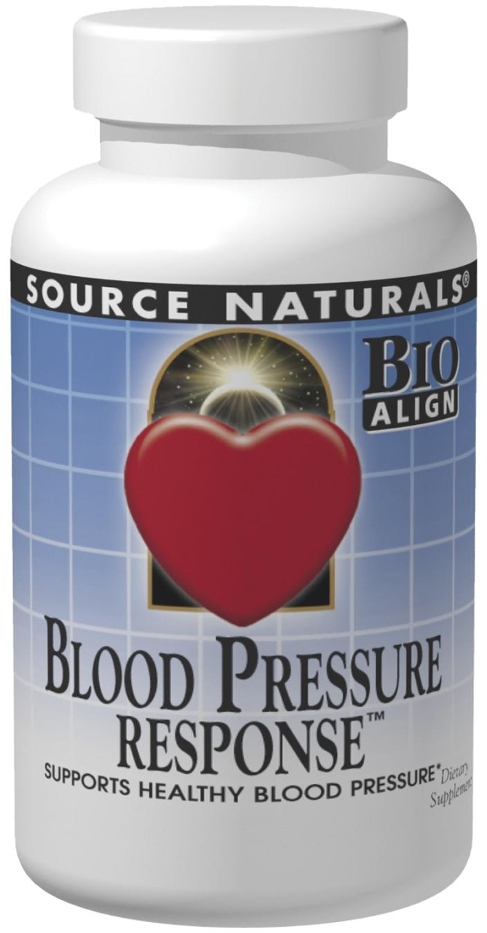 Blood Pressure Response 120 tabs by Source Naturals