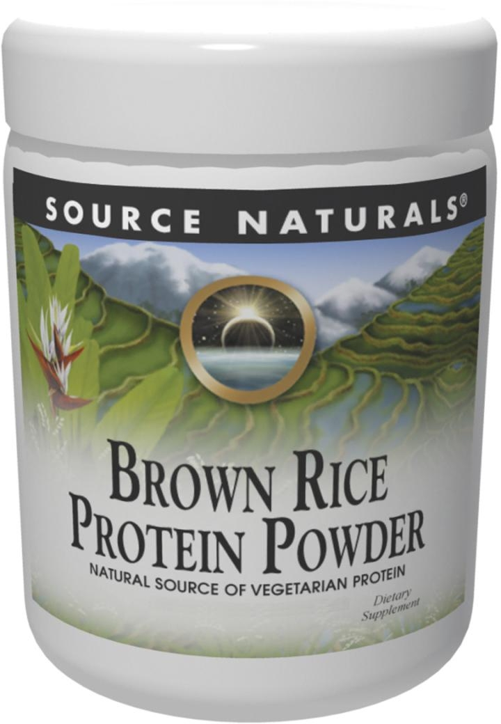 Brown Rice Protein Powder 2 lbs by Source Naturals