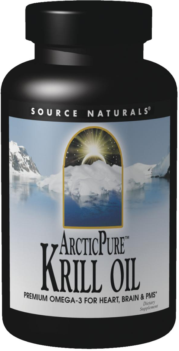 ArcticPure Krill Oil 1000 mg 30 sgels by Source Naturals