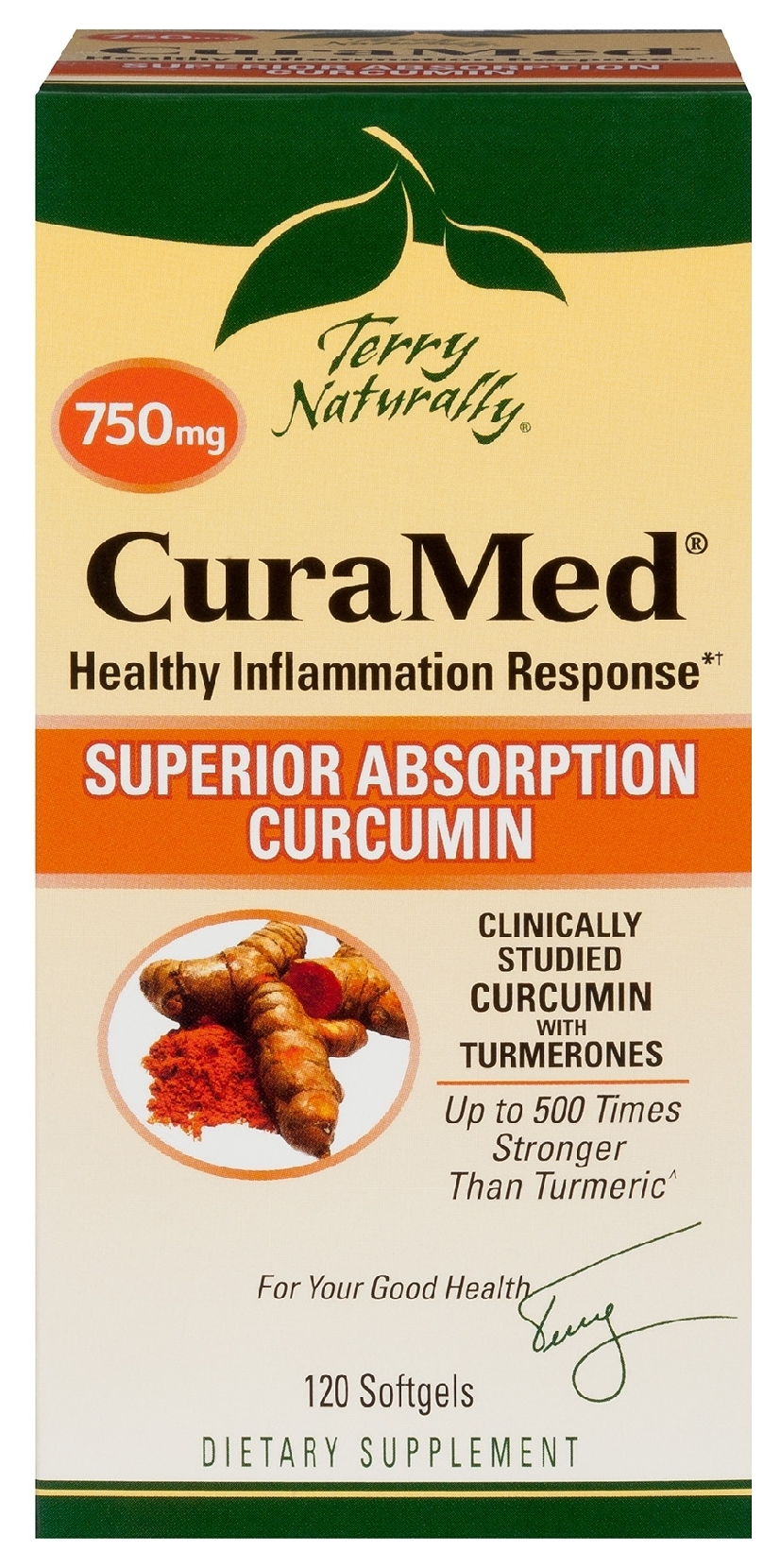 Terry Naturally CuraMed 750 mg 30 sgels by EuroPharma