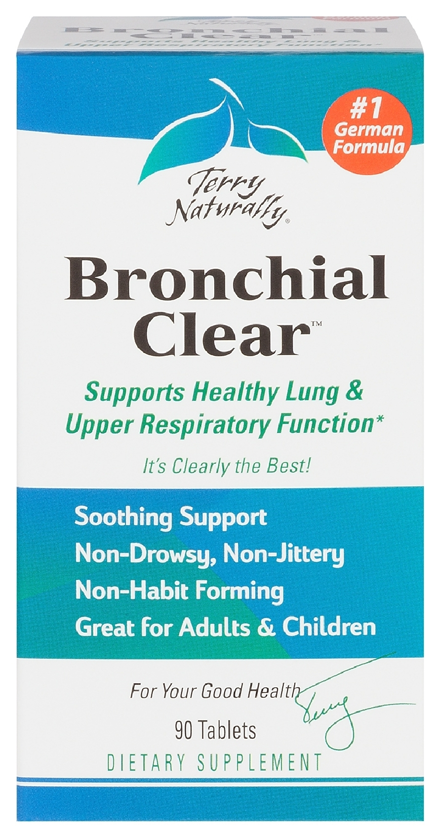 Terry Naturally Bronchial Clear 90 tabs by EuroPharma