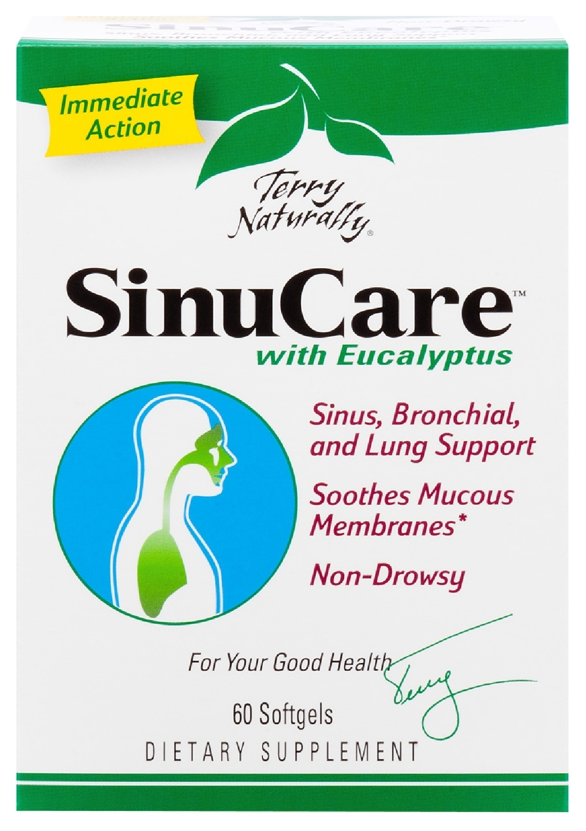 Terry Naturally SinuCare with Eucalyptus 60 sgels by EuroPharma
