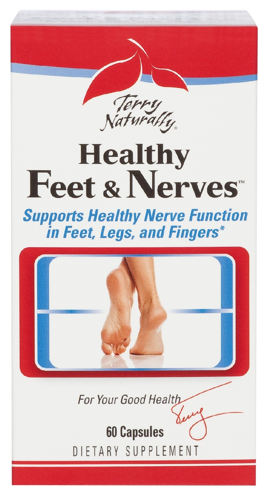 Terry Naturally Healthy Feet & Nerves 60 caps by EuroPharma