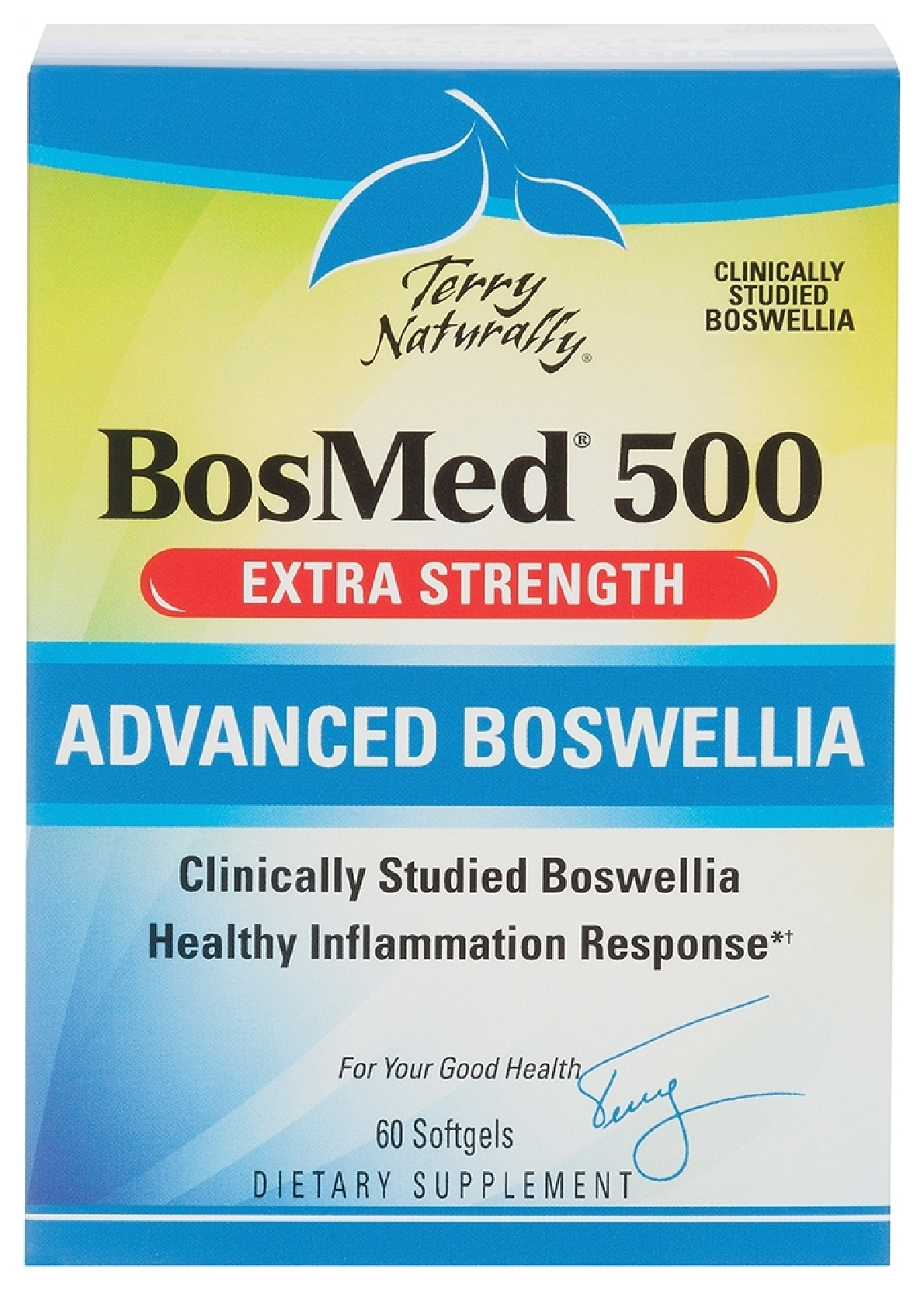 Terry Naturally BosMed 500 60 sgels by EuroPharma