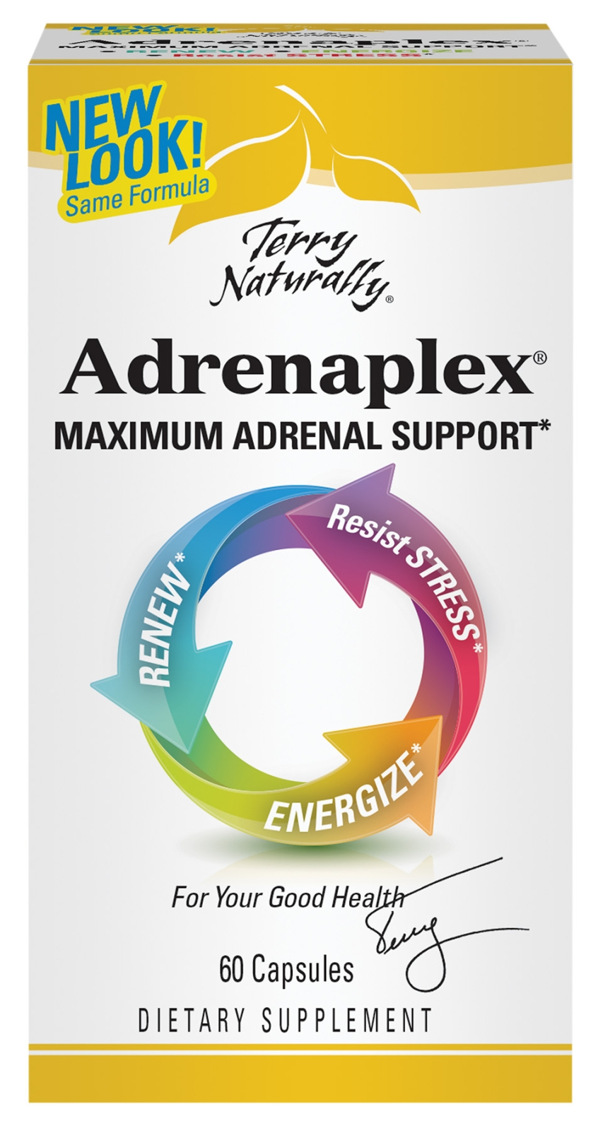 Terry Naturally Adrenaplex 60 caps by EuroPharma