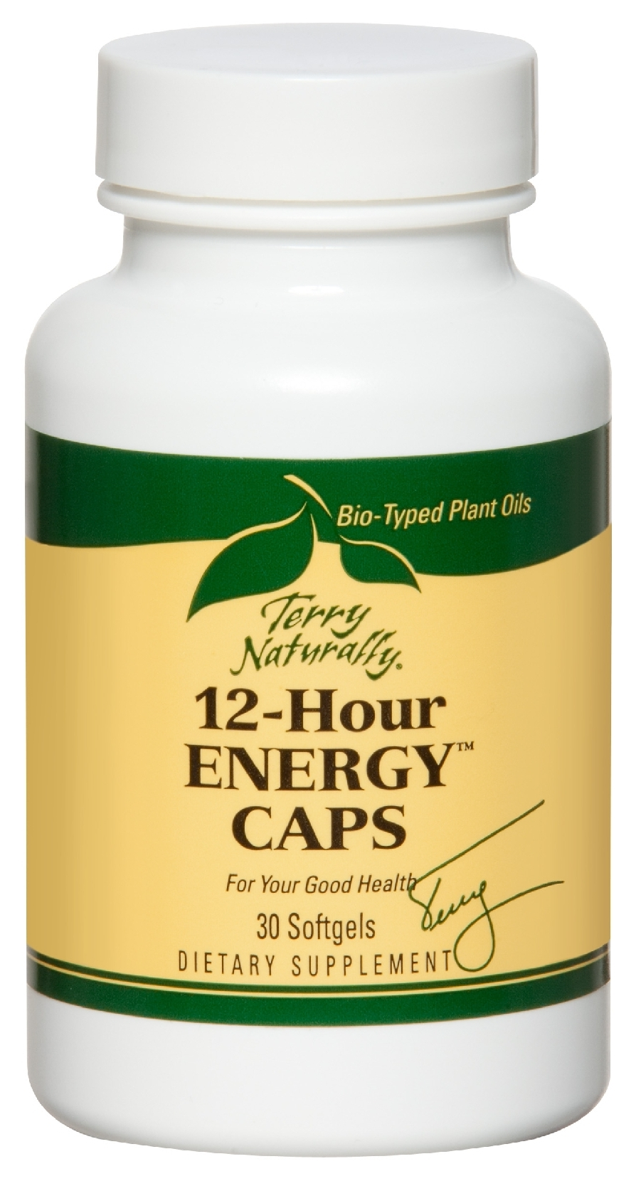 Terry Naturally 12-Hour Energy 30 sgels by EuroPharma (expires 03/2015)