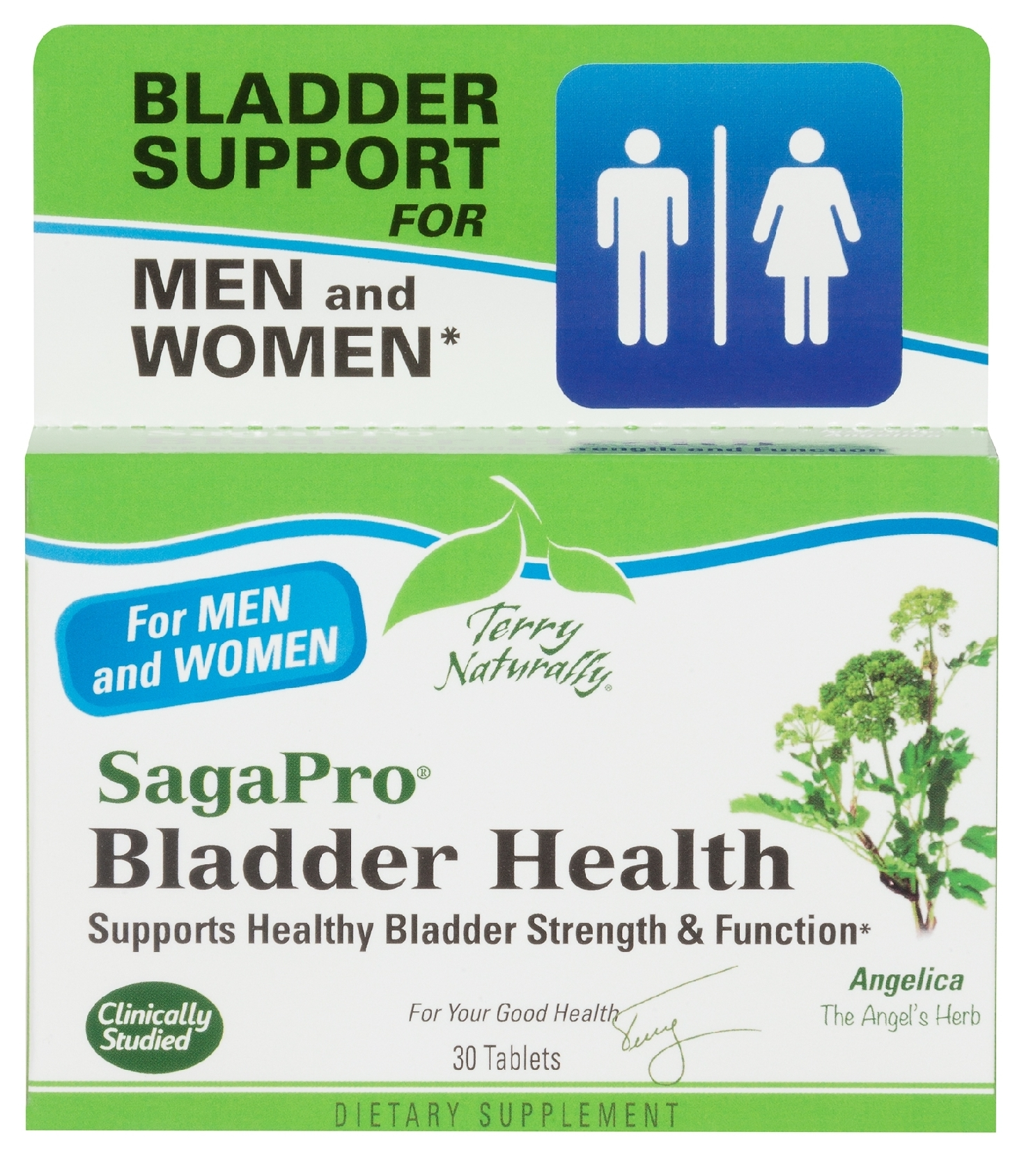 Terry Naturally SagaPro Bladder Health 30 tabs by EuroPharma
