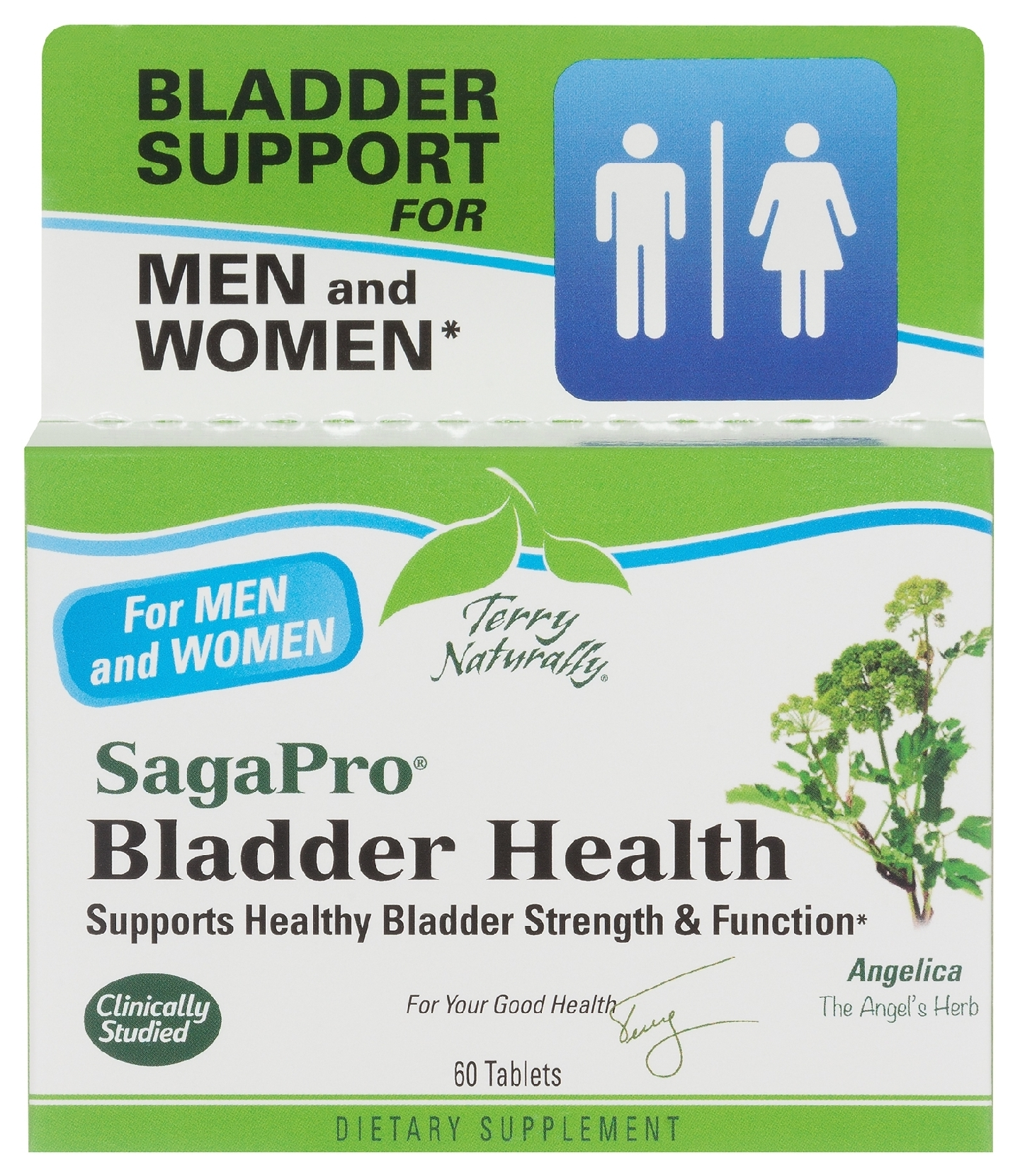 Terry Naturally SagaPro Bladder Health 60 tabs by EuroPharma