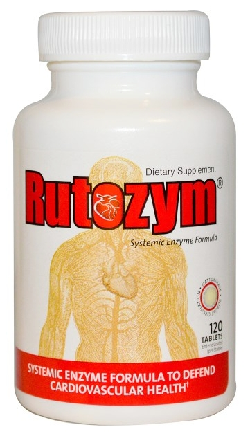 Rutozym 240 tabs by Naturally Vitamins