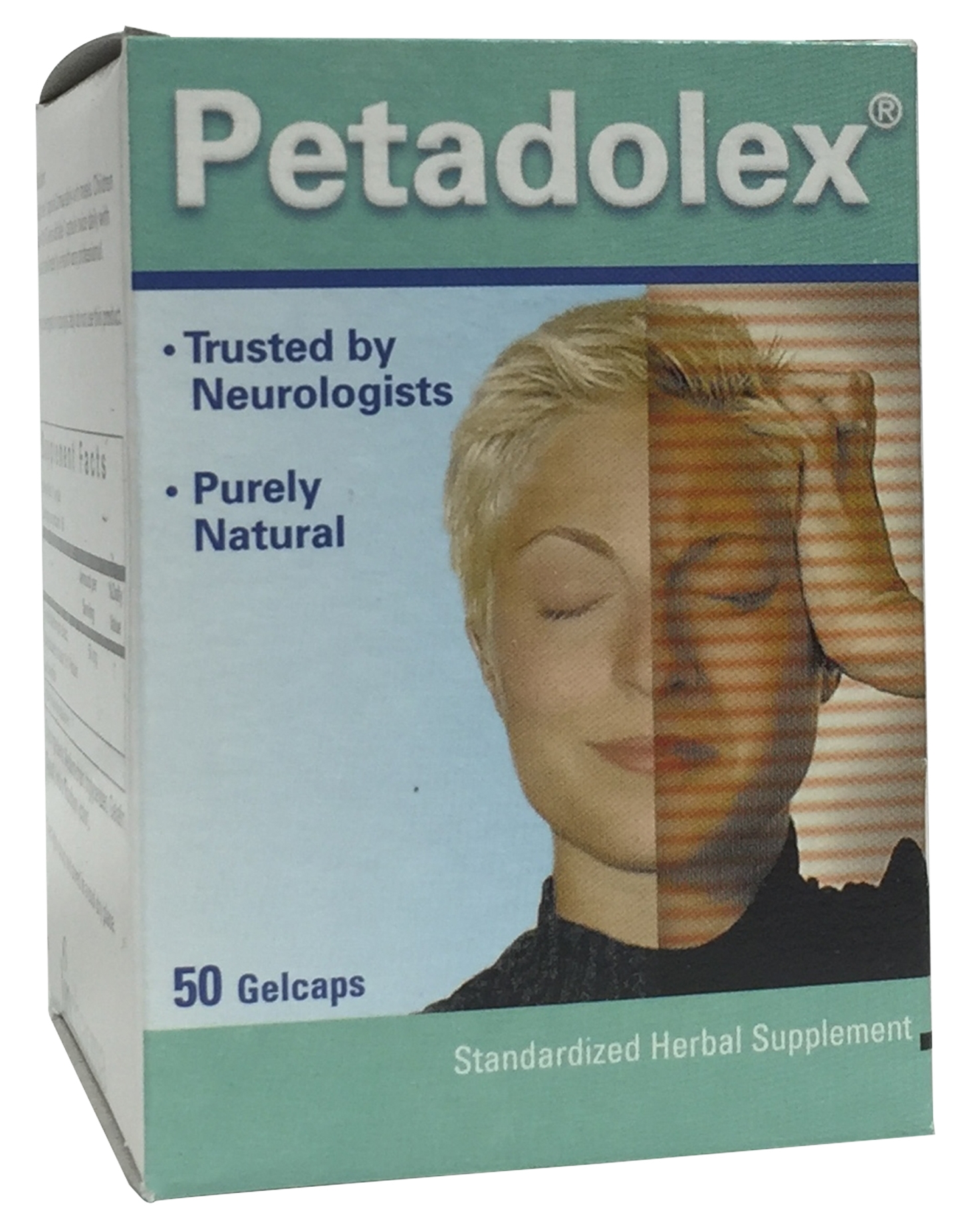 Petadolex 50 mg Softgels by Linpharma/Weber and Weber